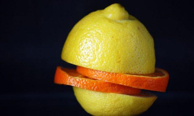 Bucce di limoni e arance