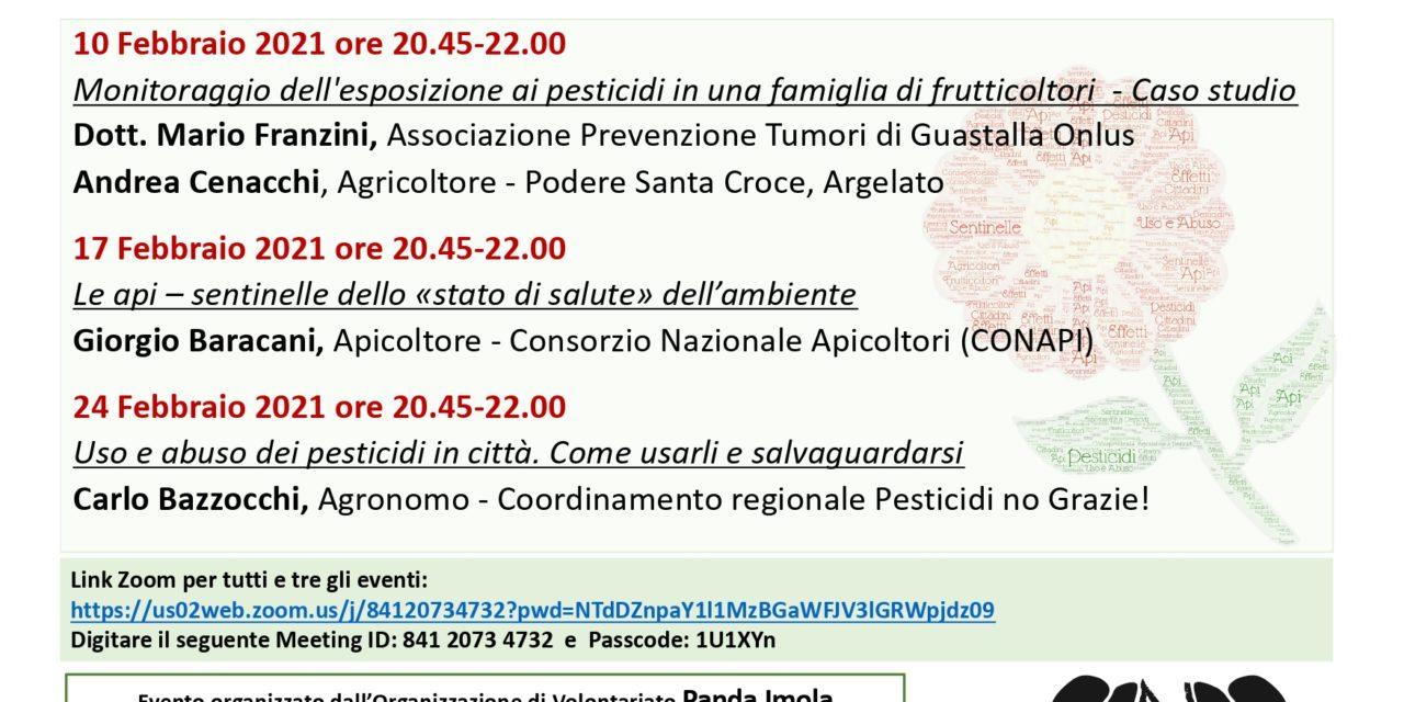 PESTICIDI – seminari on line di Panda Imola
